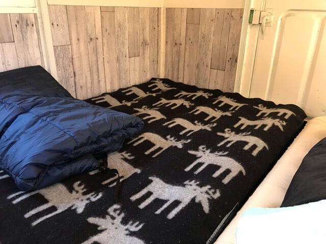 バンガロー寝室