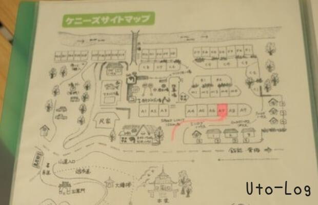 ケニーズ場内MAP