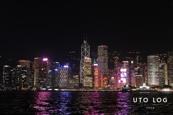 香港スターフェリー景色