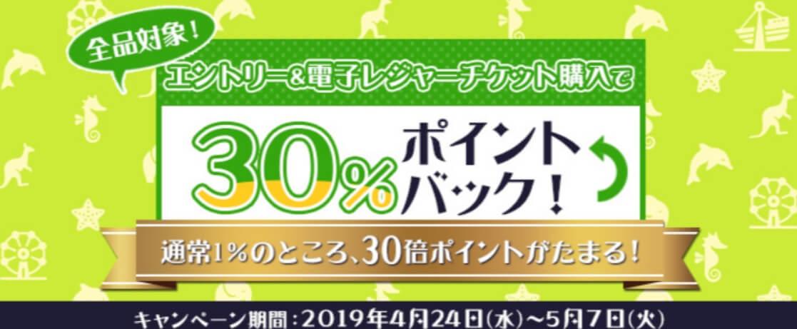 dトラベルレジャーチケットキャンペーン平成最後