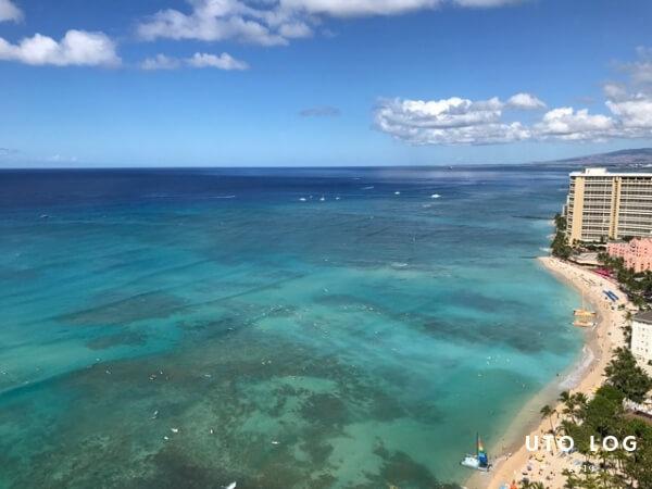 ハワイオアフ島ワイキキビーチ