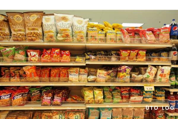 ペイレススーパーマーケットオカ店お菓子
