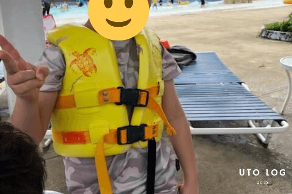 オンワードウォーターパークライフジャケット無料レンタル